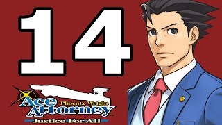 Phoenix Wright Ace Attorney: Justice for All Walkthrough Part 14 - No Commentary Playthrough (3DS)