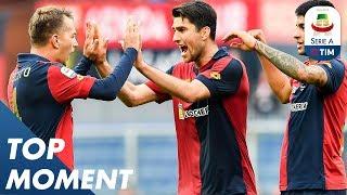 Criscito Scores Stunning Stoppage Time Winner!   Genoa 2-1 Lazio   Top Moments   Serie A