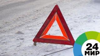 В Казахстане опрокинулся спиртовоз, водители бросились собирать жидкость - МИР 24