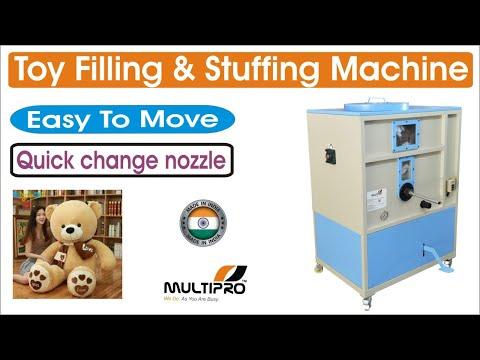 Plush Toy Filling Stuffing Machine / Soft Toy Making Machine / Toy Filling Machine