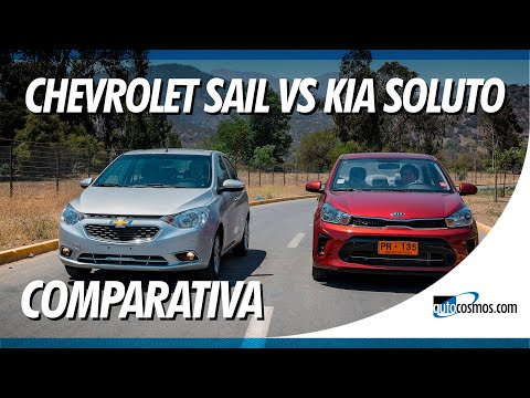 Comparativa Chevrolet Sail vs Kia Soluto