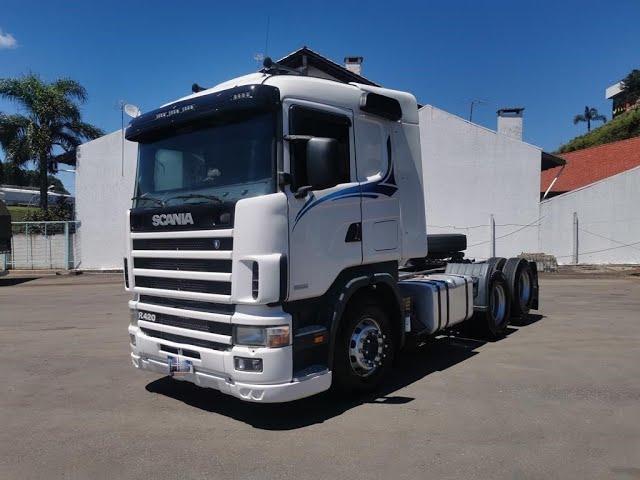 Vídeo do caminhão R124 420 6x2