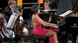 Yuja Wang -  Shostakovich   Concerto No  1 for Piano and Trumpet