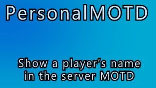Minecraft Color Server MOTD Plugin Tutorial Most Popular Videos - Minecraft farbige namen andern