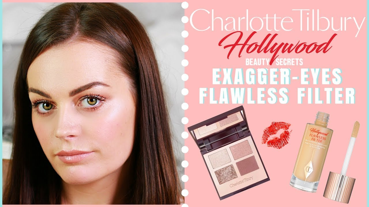 EXAGGER-EYES + HOLLYWOOD FLAWLESS FILTER FIRST IMPRESSIONS + REVIEW | CHARLOTTE TILBURY