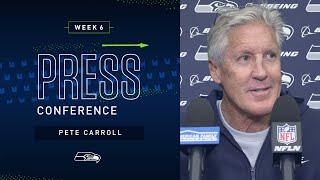 Head Coach Pete Carroll Week 6 Friday Press Conference | 2019 Seattle Seahawks