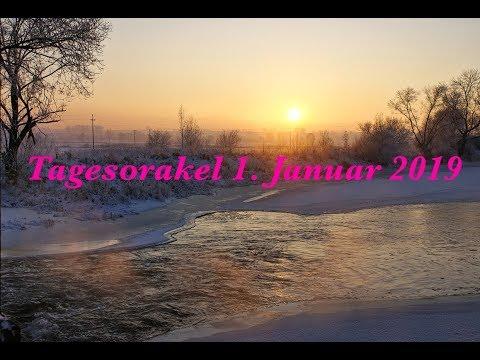 1.1.2019 Tagesorakel, Tagesenergie, Tagesbotschaft m. Kartenlegen/Hellsehen