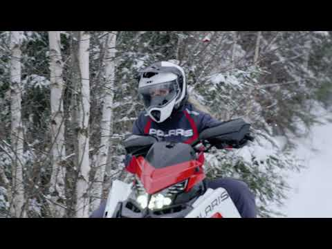 2021 Polaris 850 Indy XC 137 Launch Edition Factory Choice in Nome, Alaska - Video 1