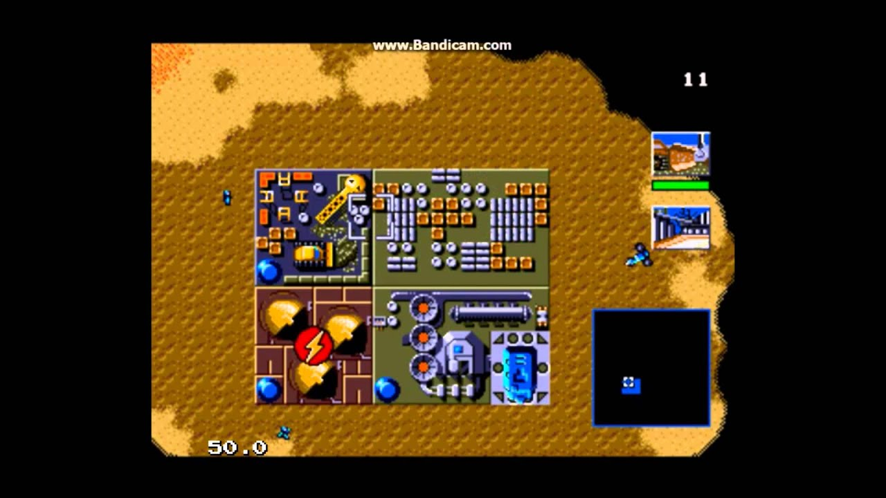 Dune II – Kampf um Arrakis (Sega Mega Drive / Sega Genesis) – Ravenking's Gameplay