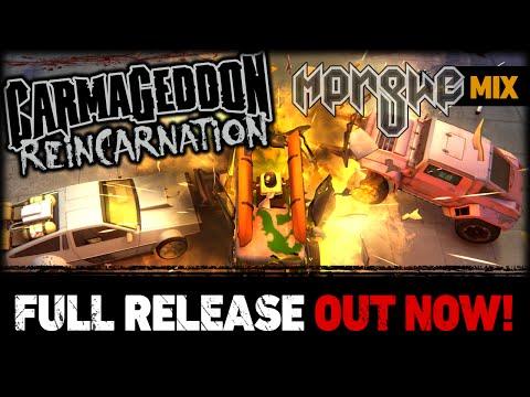 Carmageddon: Reincarnation Launch Trailer [Morgue music mix] thumbnail