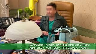 Силовики затримали голову Харківського окружного адмінсуду, коли вона передавала хабаря підлеглому