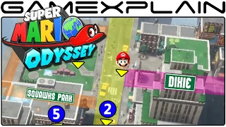 Super Mario Odyssey - Mapping Out New Donk City's Streets & Secrets (Analysis Excerpt)