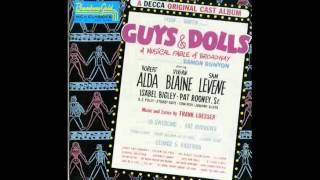 Guys and Dolls Original Broadway - Sit Down You're Rocking The Boat