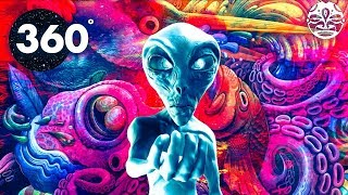 Psychedelic Summer MIND CHILL 360  (1 Hour Chill-Out Music and Art Video Mix)