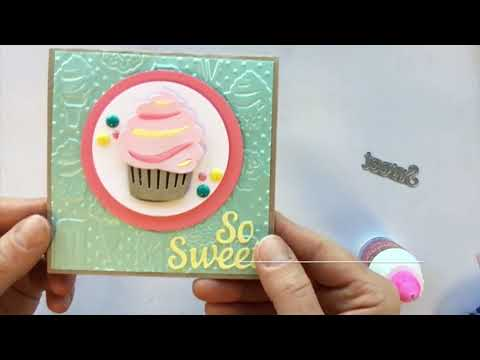 So Sweet Square Happy Mail Card | Sizzix