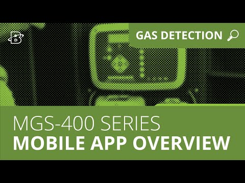 MGS-400 Series | Mobile App for Gas Detection