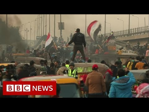 Protesters killed as young Iraqis call for change - BBC News
