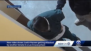 New video shows Justin Hansen getting attacked in prison