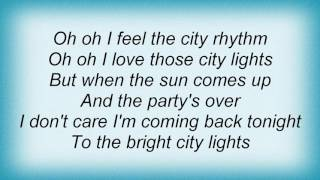 10cc - City Lights Lyrics