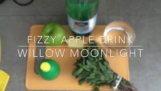 Non-alcoholic Fizzy Apple Drink!