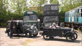 preview picture of video 'Walthamstow Pump House - 'Classic Car Day' 17/06/2012'