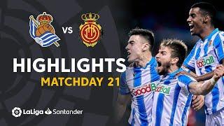 Highlights Real Sociedad vs RCD Mallorca (3-0)