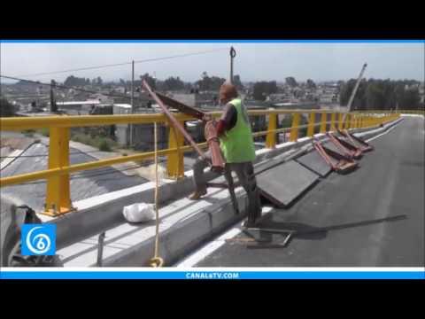 Se ultiman detalles para la apertura del puente vehicular de Tlapacoya