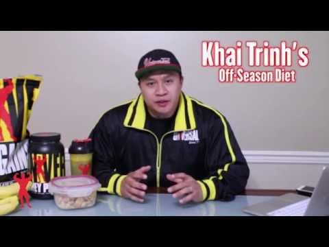 Khai Trinh's Off-Season Diet