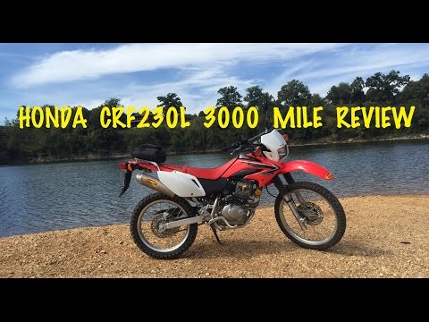 HONDA CRF230L 3000 Mile Review – CRF230L VS CRF250L Dual Sport Motorcycle
