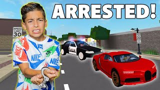FERRAN BUYS a BUGATTI Then Gets ARRESTED in ROBLOX! | Royalty Gaming