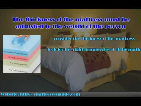 Choosing the Right Mattress For Overweight People