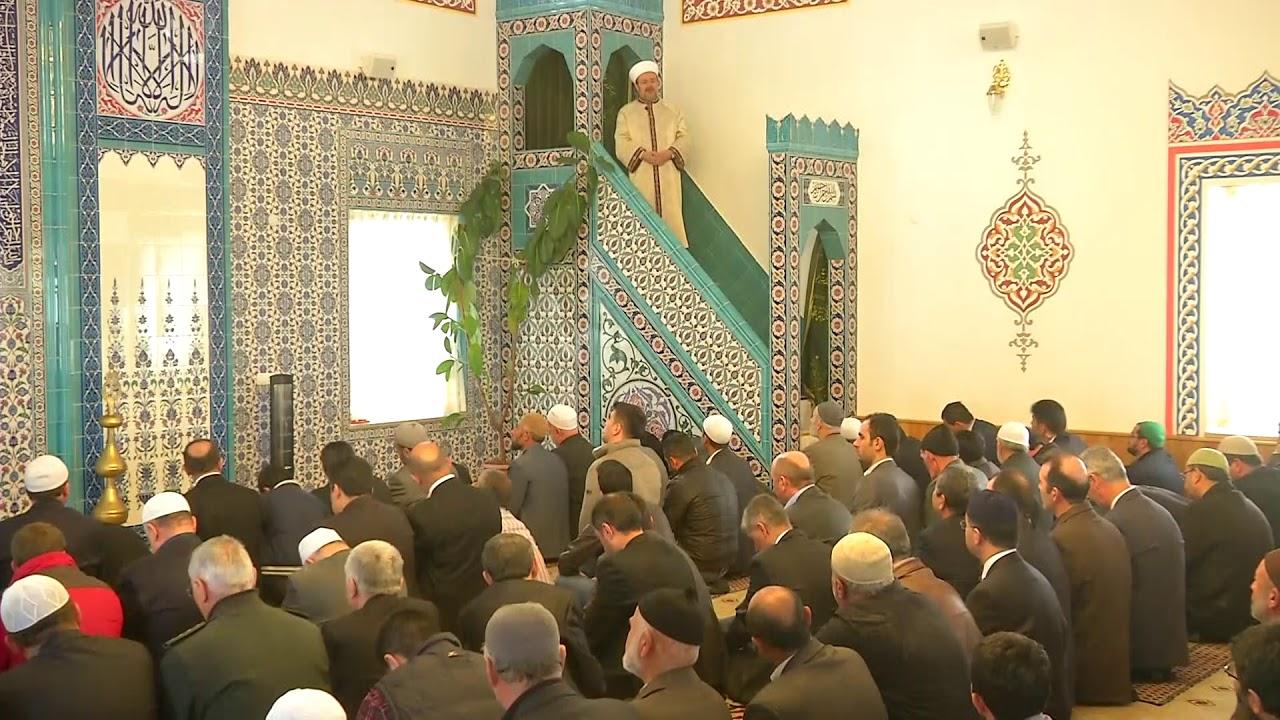 Nevşehir Hacı Bekir Kurt Camii I Cuma Hutbesi I 21.02.2014