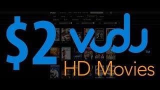 $2 Dollar VUDU HD Movies. Cheap Digital Movies. Bulk up VUDU. Better than Netflix. Bing Err
