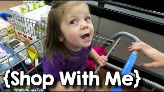 Cute Baby, Long Nights & Junk Food ¦ Large Family Shop with Me ¦ Oct  2019