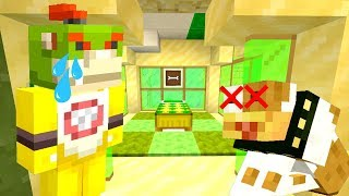 BOWSER JR'S DOG IS DYING... *EMOTIONAL..*   Nintendo Fun House   Minecraft [362]
