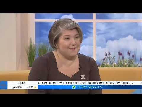 Председатель Госкомитета РБ по предпринимательству Римма Бойцова на Утреннем шоу