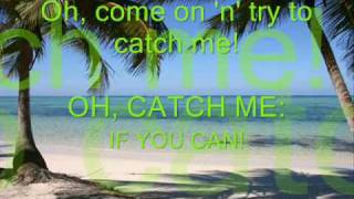 ♫ Catch Me If You Can♫ - (Lyrics) - Angelia Via