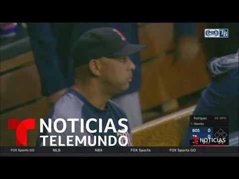 Alex Cora queda fuera de los Red Sox de Boston por el robo de señales | Noticias Telemundo