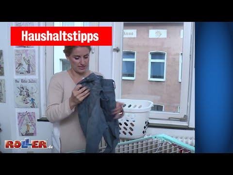 Haushaltstipps: Wäsche im Winter trocknen