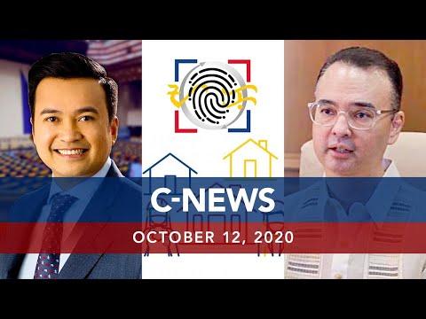 [UNTV]  UNTV: C-NEWS   October 12, 2020