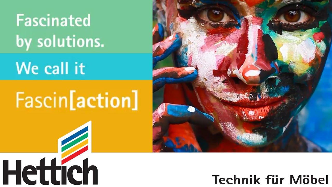 Fascin[action] – Восхищать решениями. Hettich