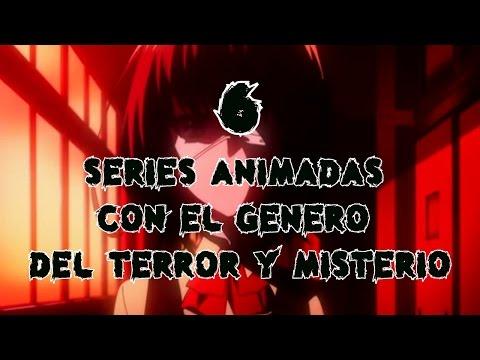 TOPS 6: 6 Series Animadas Con EL Genero De Terror Y Misterio