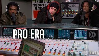Hot 97 - Pro Era Spit Bars on Real Late w/ Peter Rosenberg!