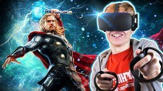 THOR VR ROLLER COASTER! | Roller Coaster Legends II: Thor