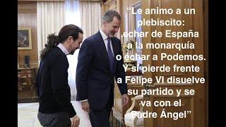 """Tremendo mensaje de Federico a Iglesias: """"Cuando el monosabio se hace el amo de la plaza"""""""