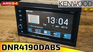 Kenwood DNR 4190 DABS   DAB+ Autoradio mit Navigation 2-DIN   ARS24