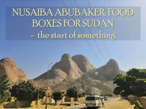 Organising Food Boxes: a Refugee supports Vulnerable Women in Sudan