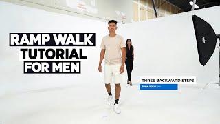 Male Model Ramp Walk Tutorial   How To Walk Like A Male Model On The Catwalk