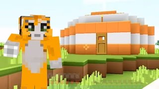 Minecraft Stampy Challenges New | Minecraft Xbox Race To The Nether Challenge