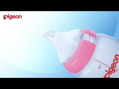 Pigeon бутылочка для кормления Перисталик Плюс с широким горлом, 240 мл